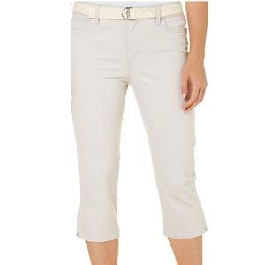 Women's Creamstone Capris - Bandolino Size 10